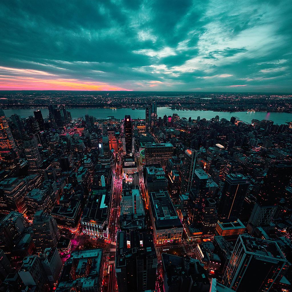 city sea sky