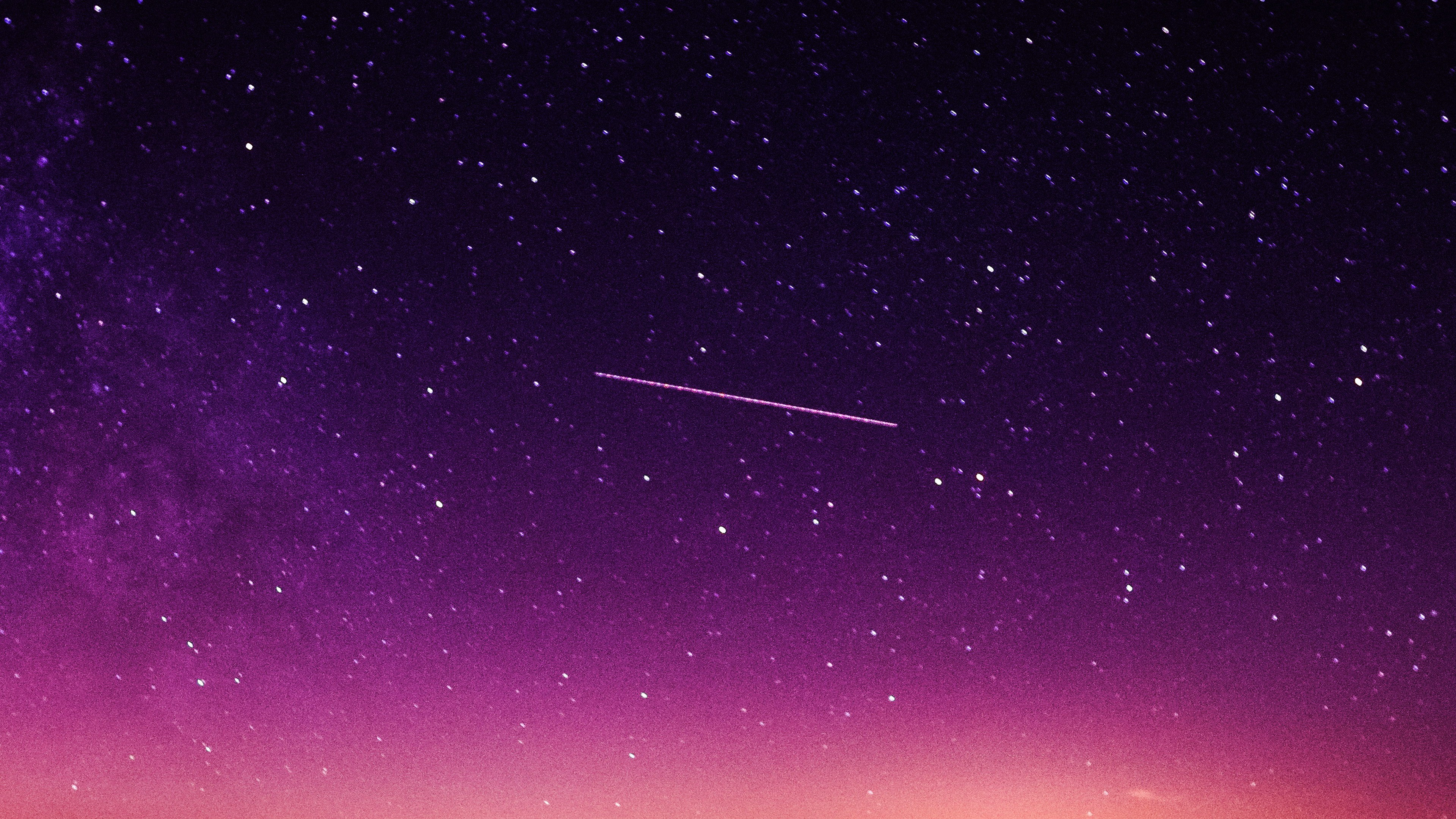 papers.co ne63 star galaxy night sky mountain purple red nature space 35 3840x2160 4k wallpaper