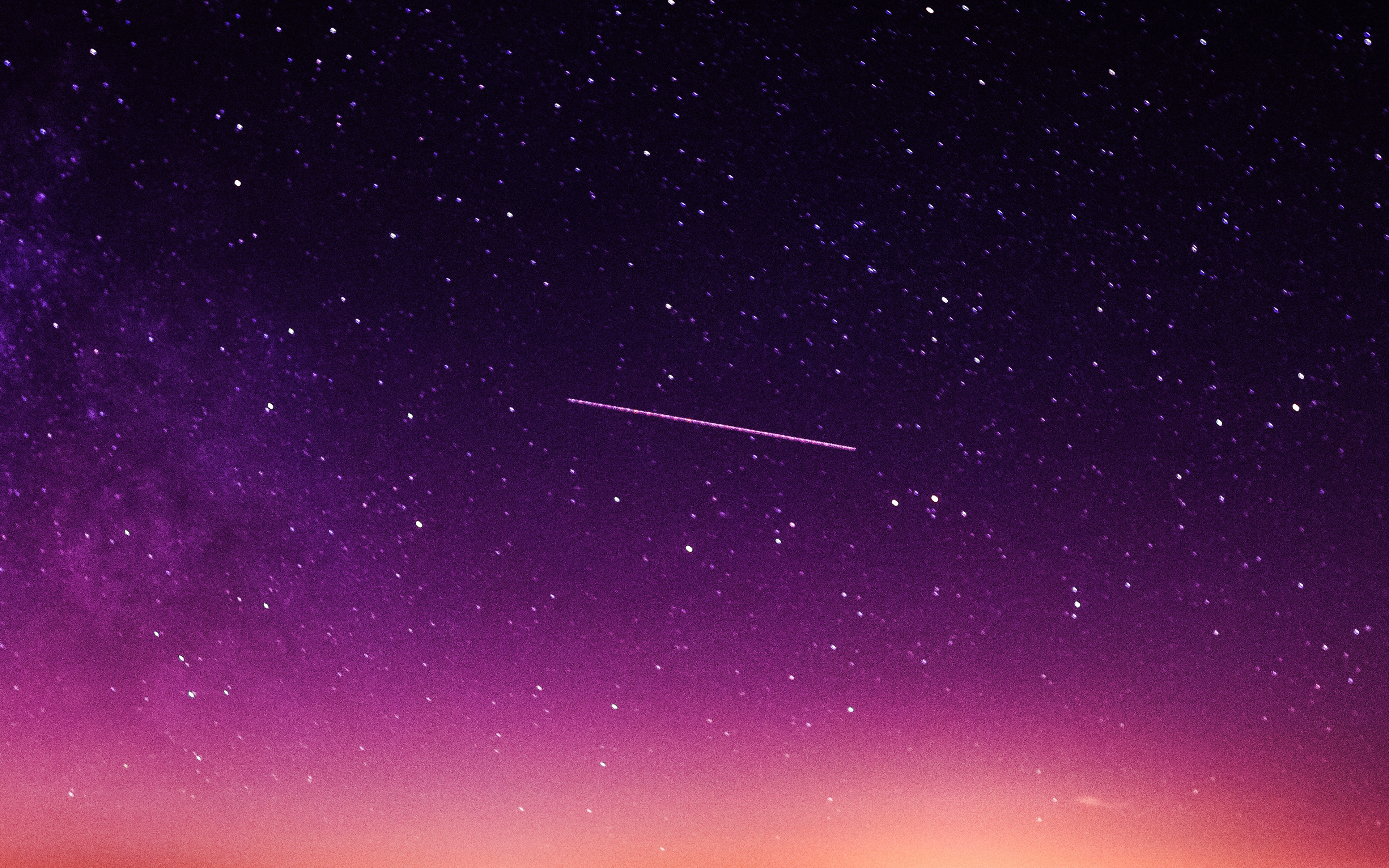 papers.co ne63 star galaxy night sky mountain purple red nature space 36 3840x2400 4k wallpaper