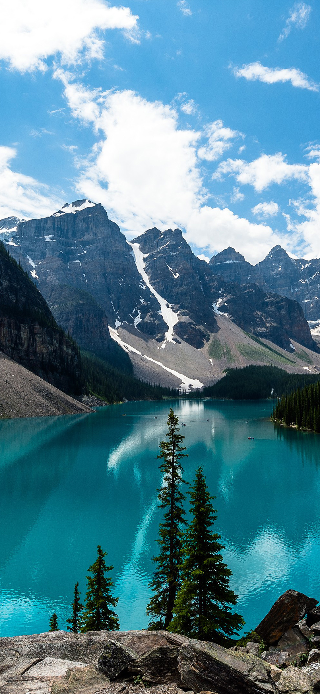Iphonexpapers Com Iphone X Wallpaper Ne69 Lake Louise Mountain