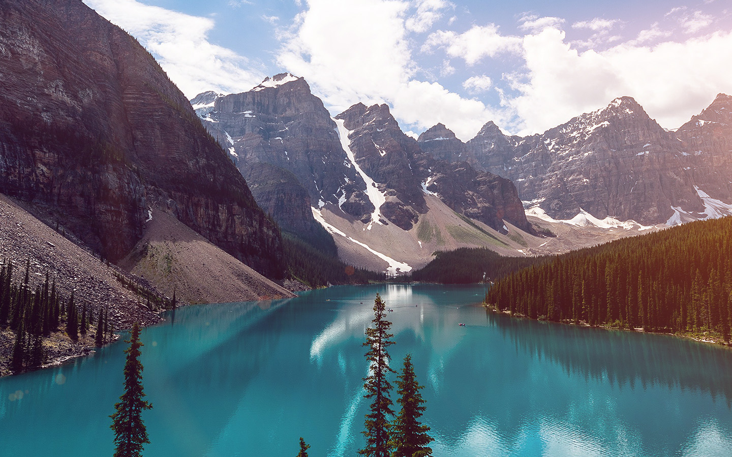 wallpaper for desktop, laptop | ne70-lake-louise-mountain ...