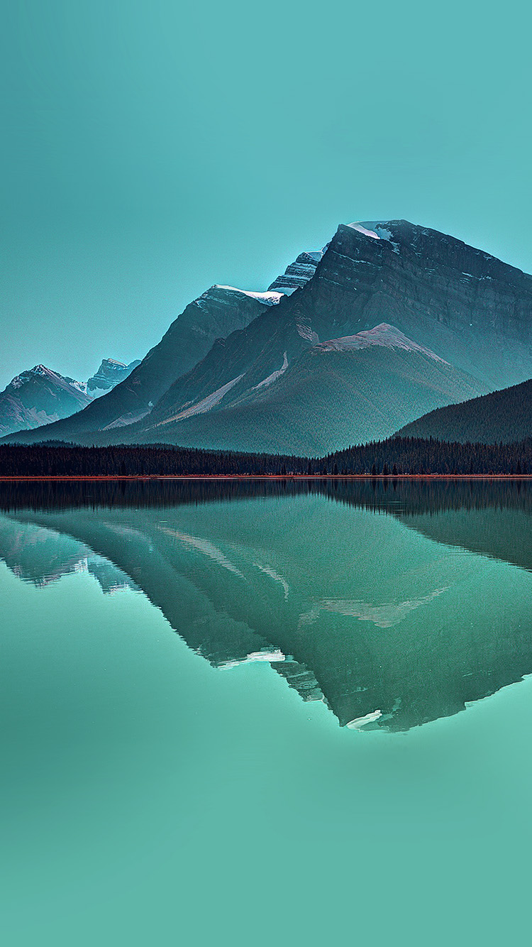 iPhonepapers.com-Apple-iPhone-wallpaper-ne74-lake-mountain-reflection-nature-green
