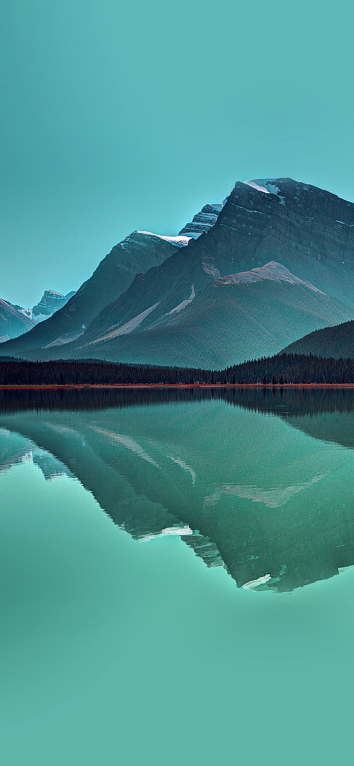 iPhonexpapers.com-Apple-iPhone-wallpaper-ne74-lake-mountain-reflection-nature-green