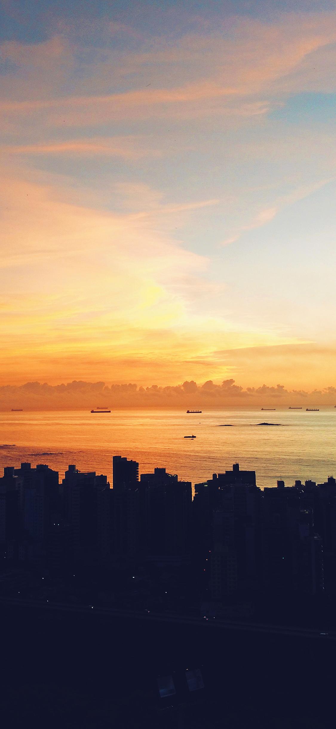 iPhonexpapers.com-Apple-iPhone-wallpaper-ne96-city-night-sunset-sky-nature-blue