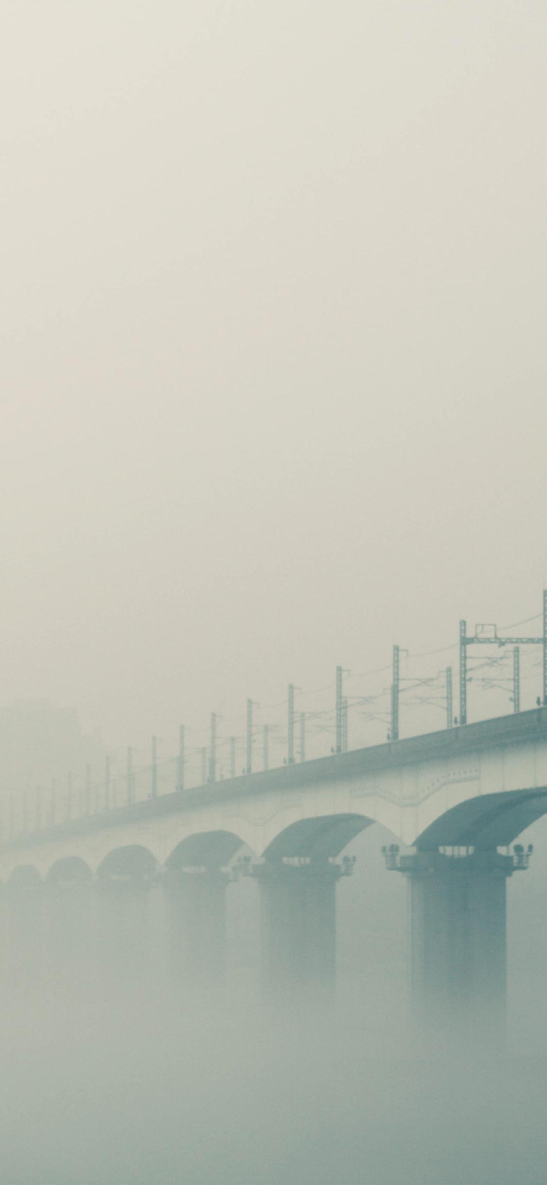 iPhoneXpapers.com-Apple-iPhone-wallpaper-ne97-foggy-bridge-river-green
