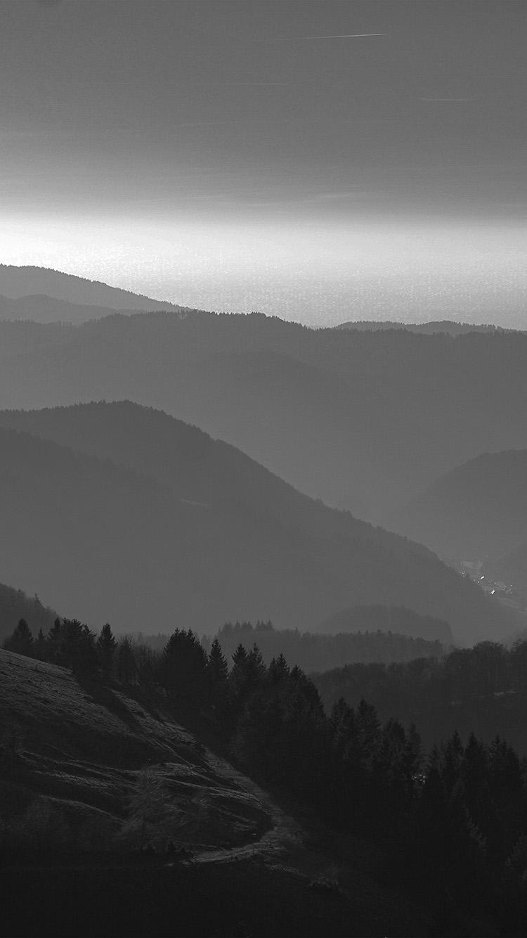 iPhonepapers.com-Apple-iPhone-wallpaper-nf00-mountain-view-sky-bw-dark-nature