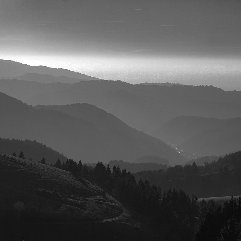 wallpaper-nf00-mountain-view-sky-bw-dark-nature-wallpaper