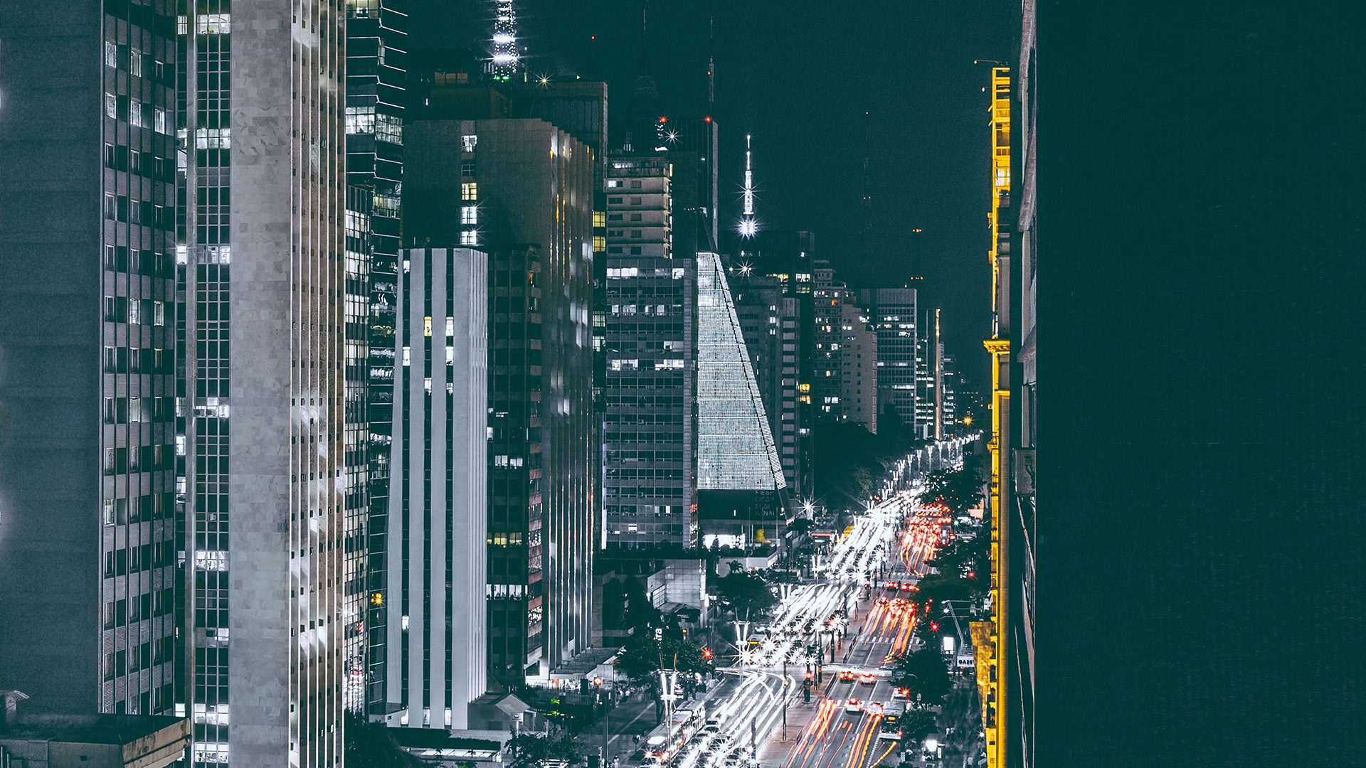 wallpaper for desktop, laptop | nf05-city-night-view-urban ...