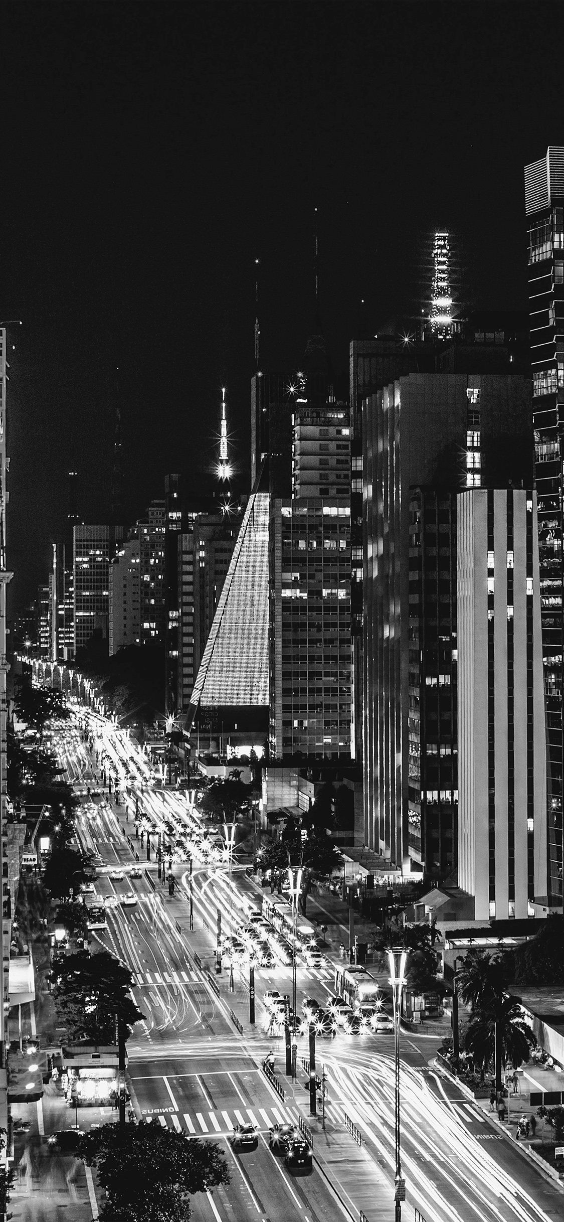 iPhoneXpapers.com-Apple-iPhone-wallpaper-nf07-city-night-view-urban-street-bw-dark