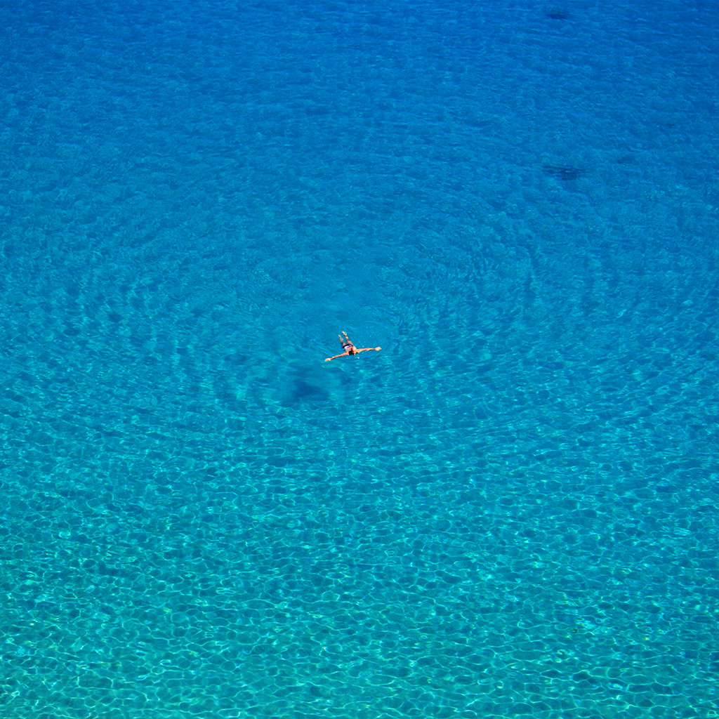 android-wallpaper-nf42-ocean-sea-blue-swim-vacation-simple-wave-wallpaper