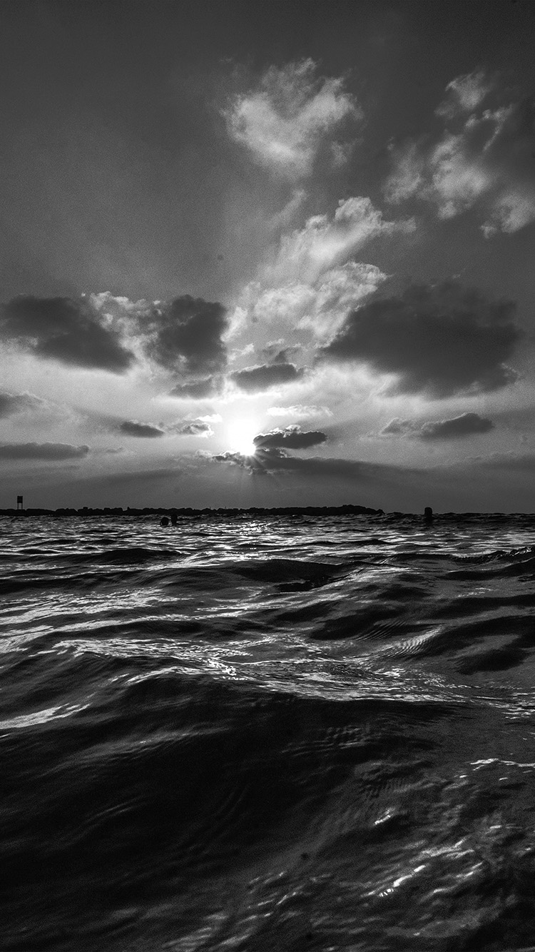 iPhone7papers.com-Apple-iPhone7-iphone7plus-wallpaper-nf45-sunset-sea-sky-ocean-summer-dark-bw-water-nature