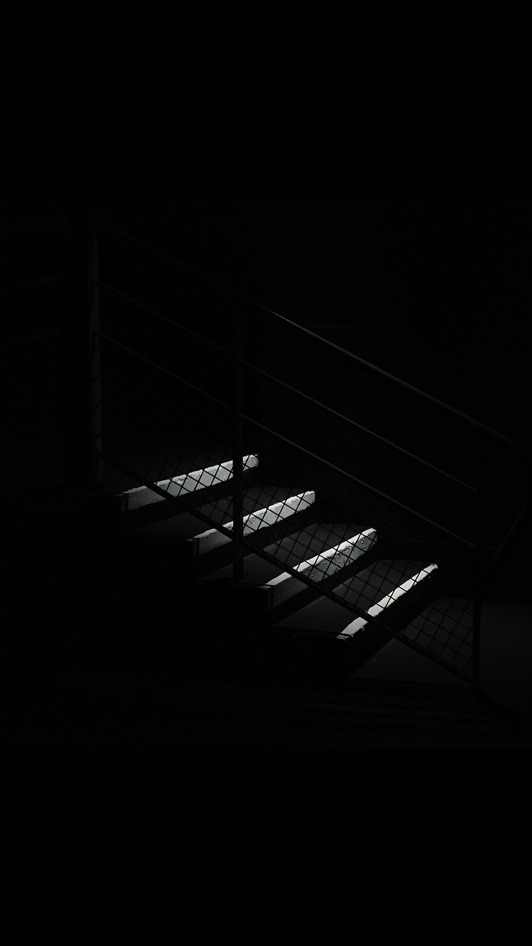 iPhone6papers.co-Apple-iPhone-6-iphone6-plus-wallpaper-nf68-dark-stairs-minimal-simple-city-bw