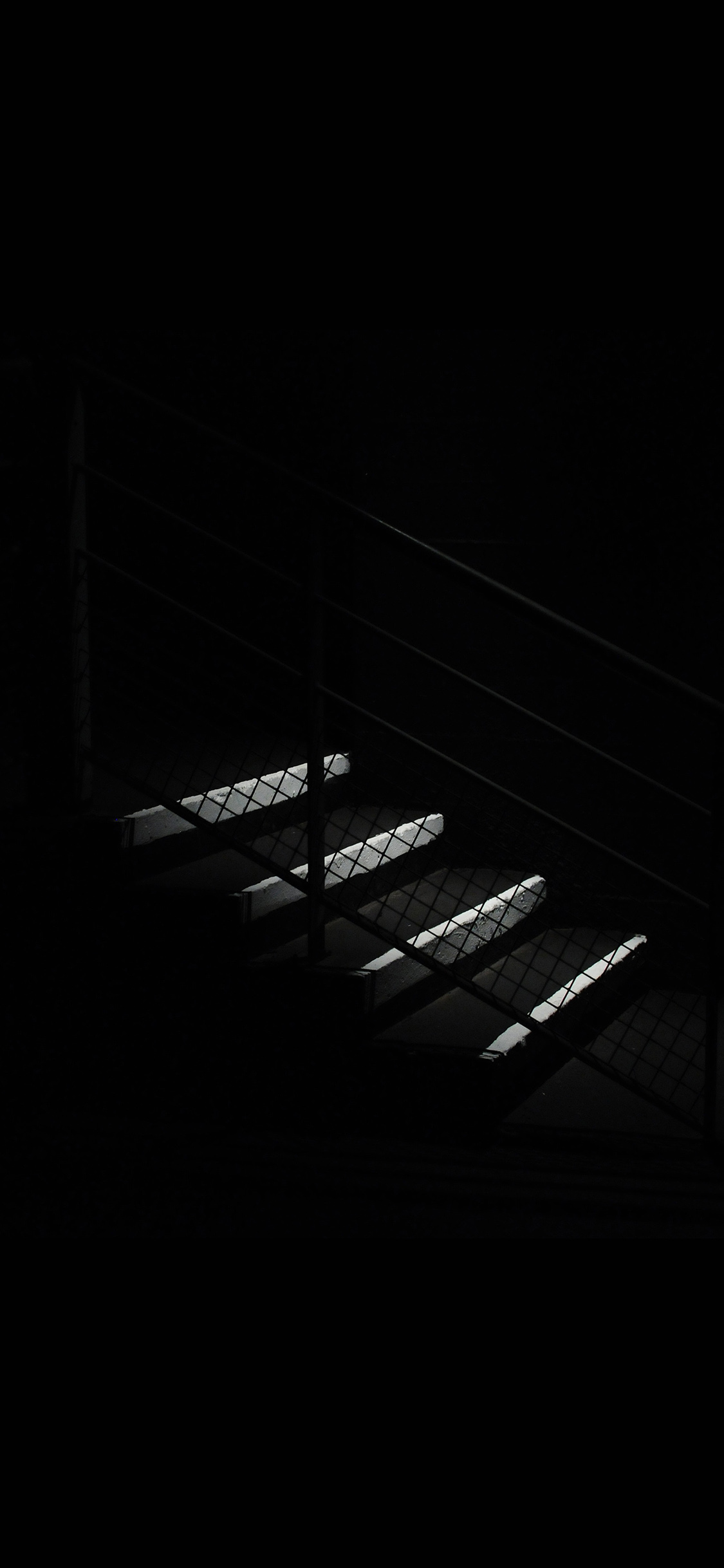 iPhoneXpapers.com-Apple-iPhone-wallpaper-nf68-dark-stairs-minimal-simple-city-bw