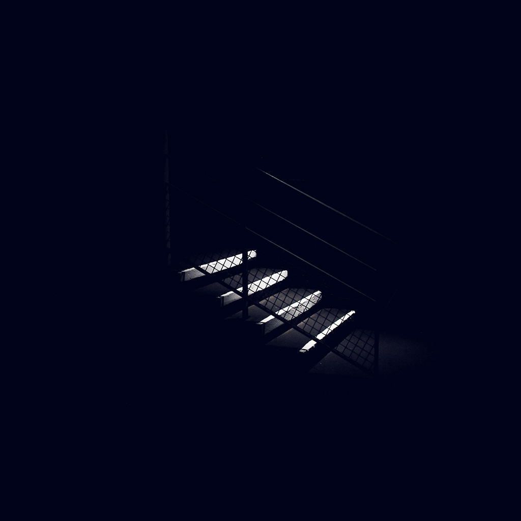 android-wallpaper-nf69-dark-stairs-minimal-simple-city-bw-blue-wallpaper