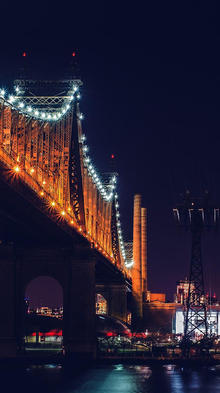 iPhone7papers.com-Apple-iPhone7-iphone7plus-wallpaper-nf74-bridge-night-river-city-lights-orange-blue