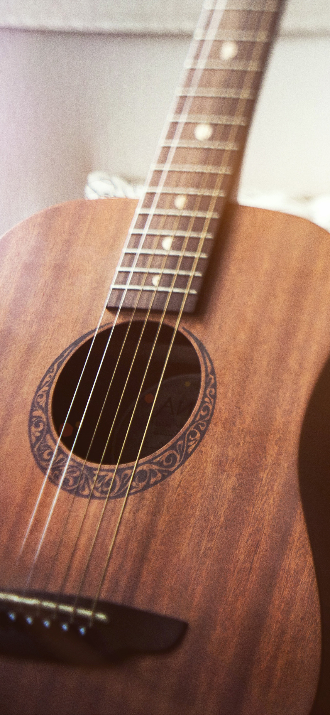 Nf89 Classic Guitar Instrument Music Flare Wallpaper