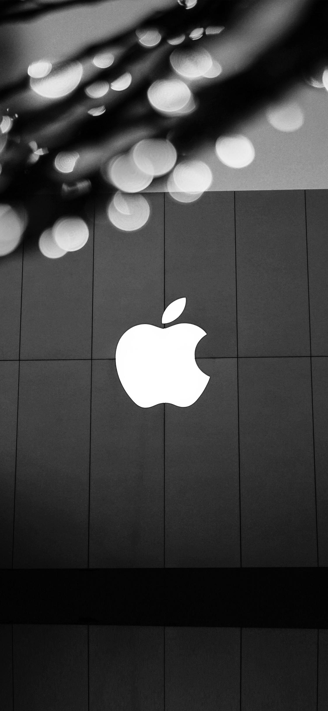 iPhoneXpapers.com-Apple-iPhone-wallpaper-ng09-apple-logo-bw-dark