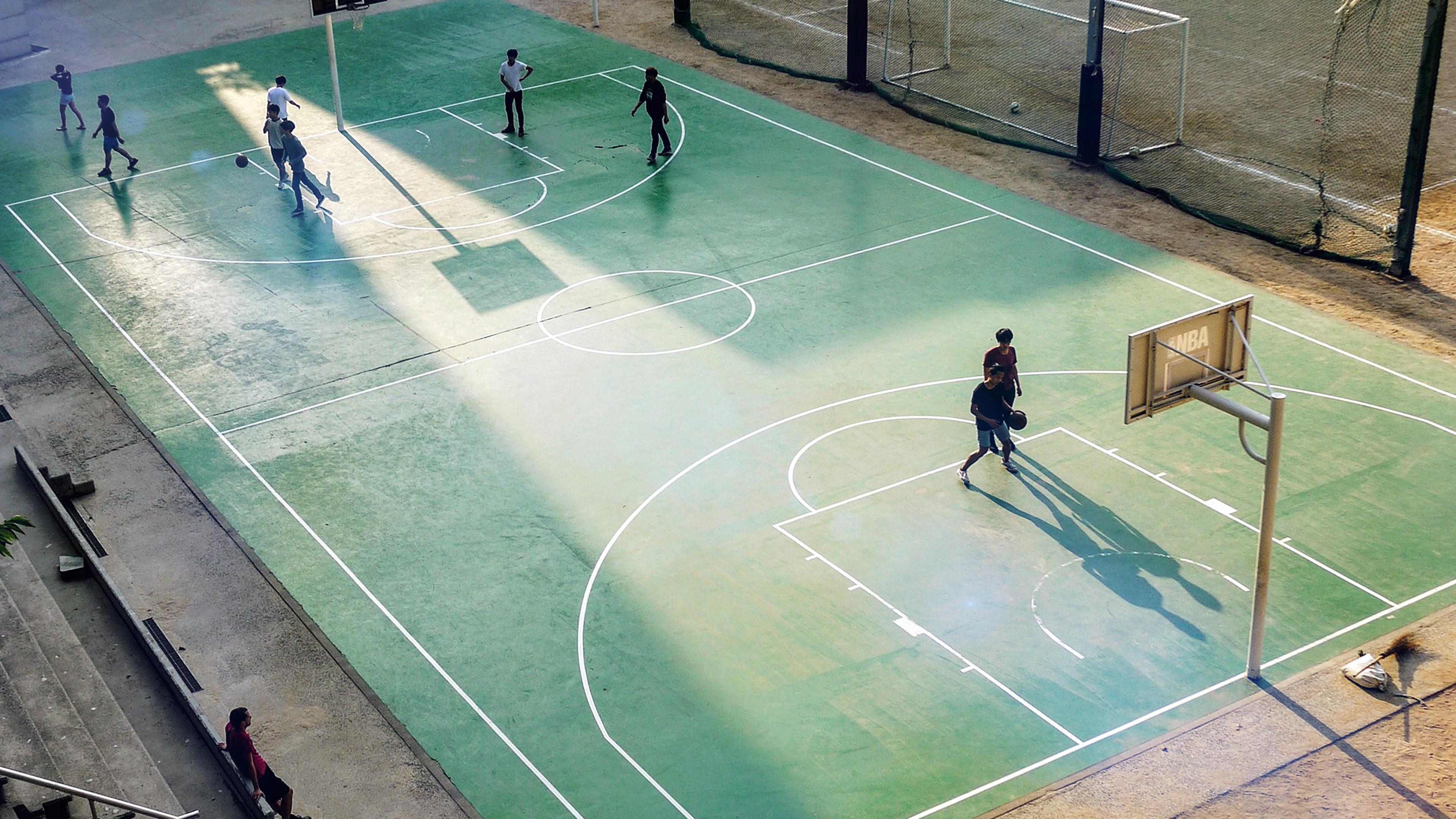 Ng13 Basketball Green City Sports Art Nba Flare Wallpaper