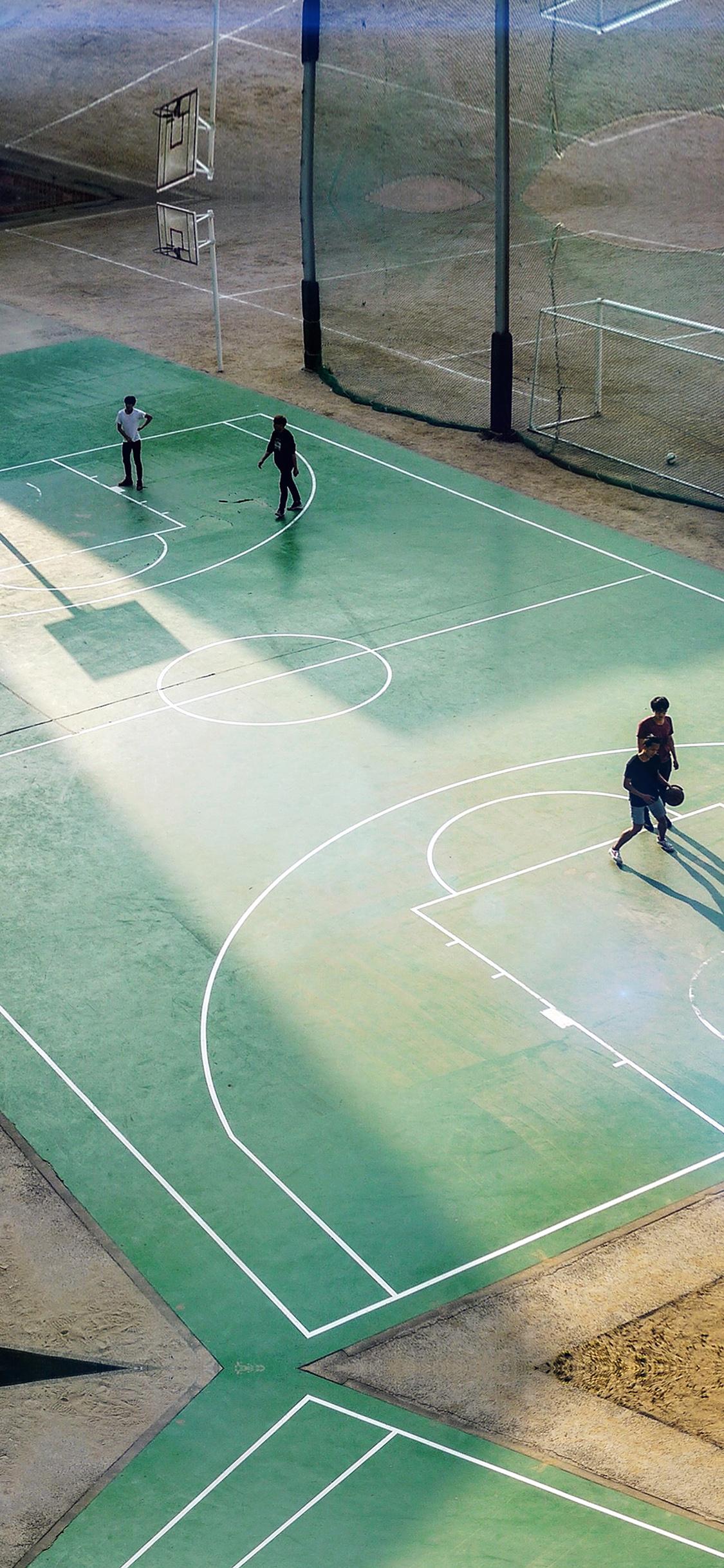 iPhoneXpapers.com-Apple-iPhone-wallpaper-ng13-basketball-green-city-sports-art-nba-flare