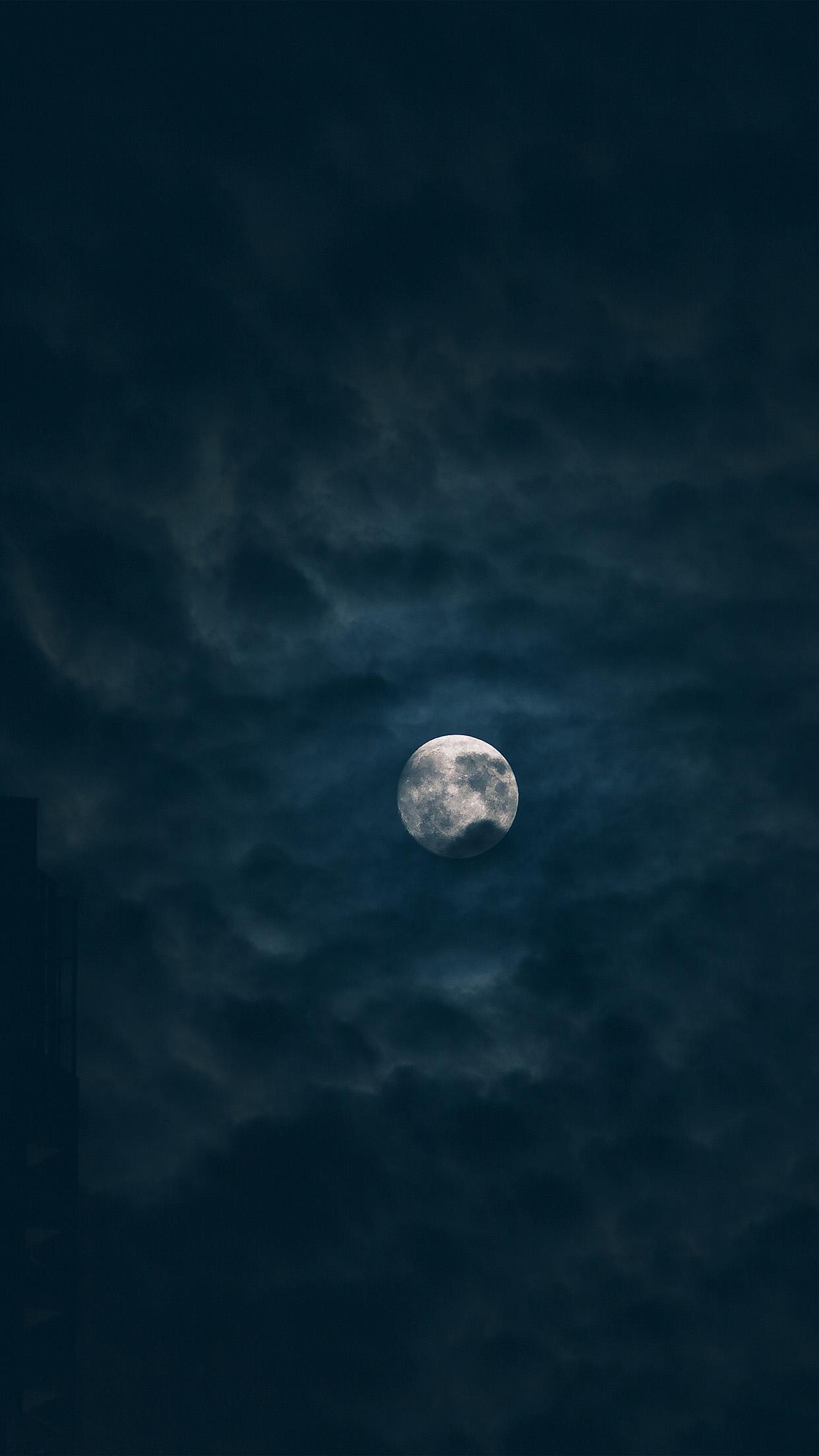 Iphone7papers Com Iphone7 Wallpaper Ng20 Moon Sky Dark
