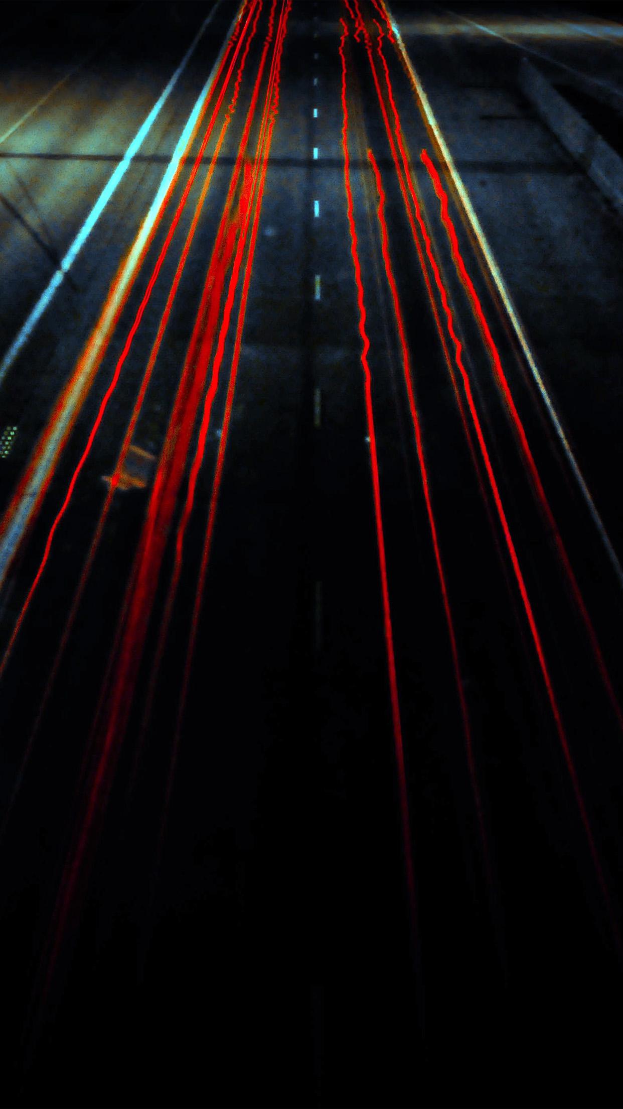 Ng26 Street Car Light Dark Red Wallpaper