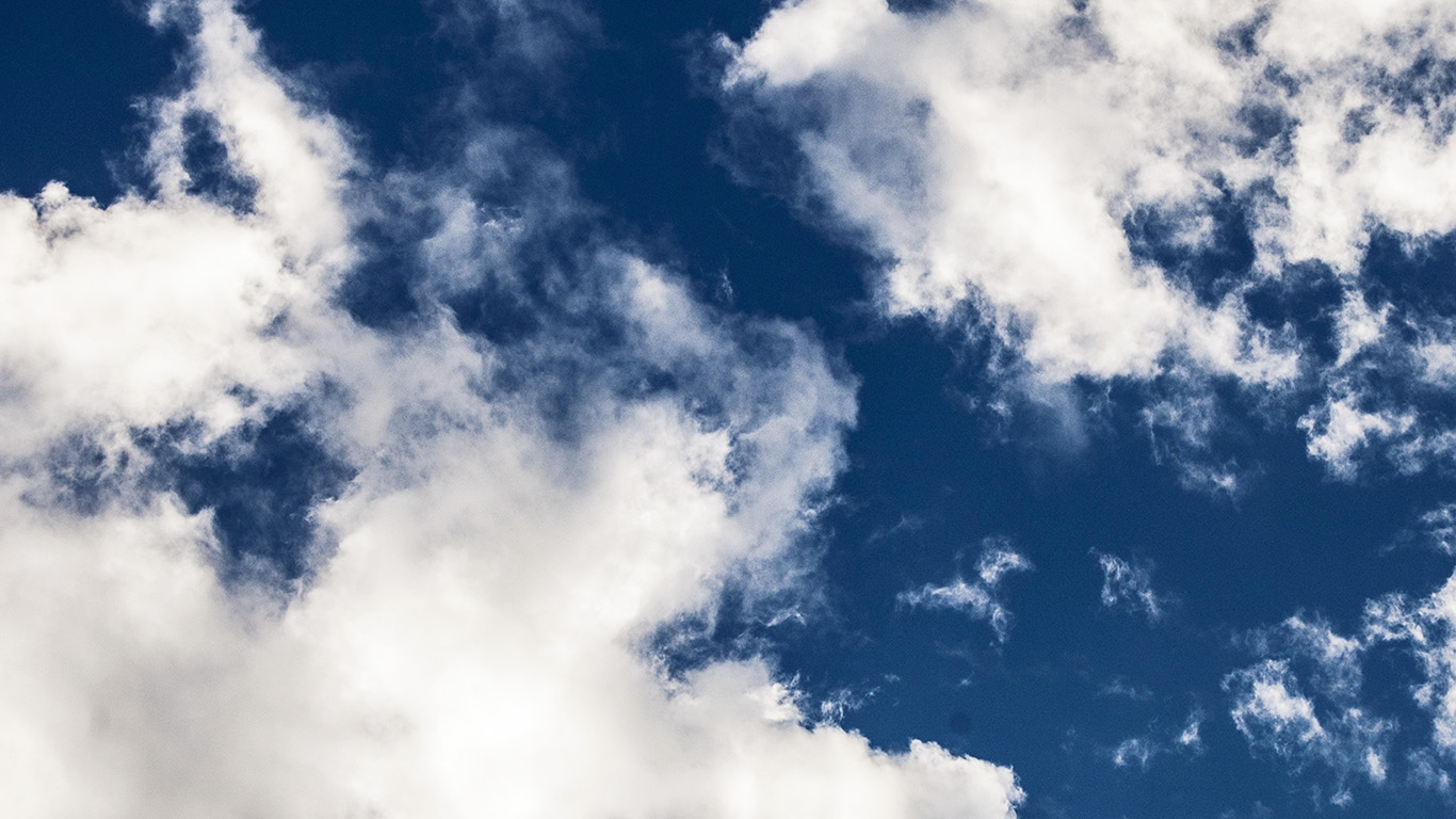 Ng28 Cloud Dark Blue Sky Nature Summer White Wallpaper