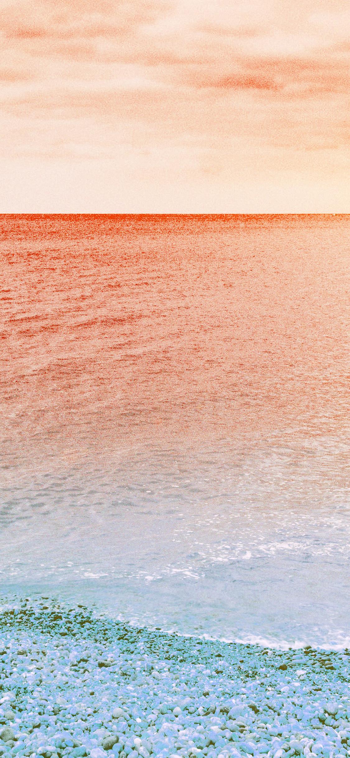iPhonexpapers.com-Apple-iPhone-wallpaper-ng31-sea-nature-beach-red-sky-rock-art