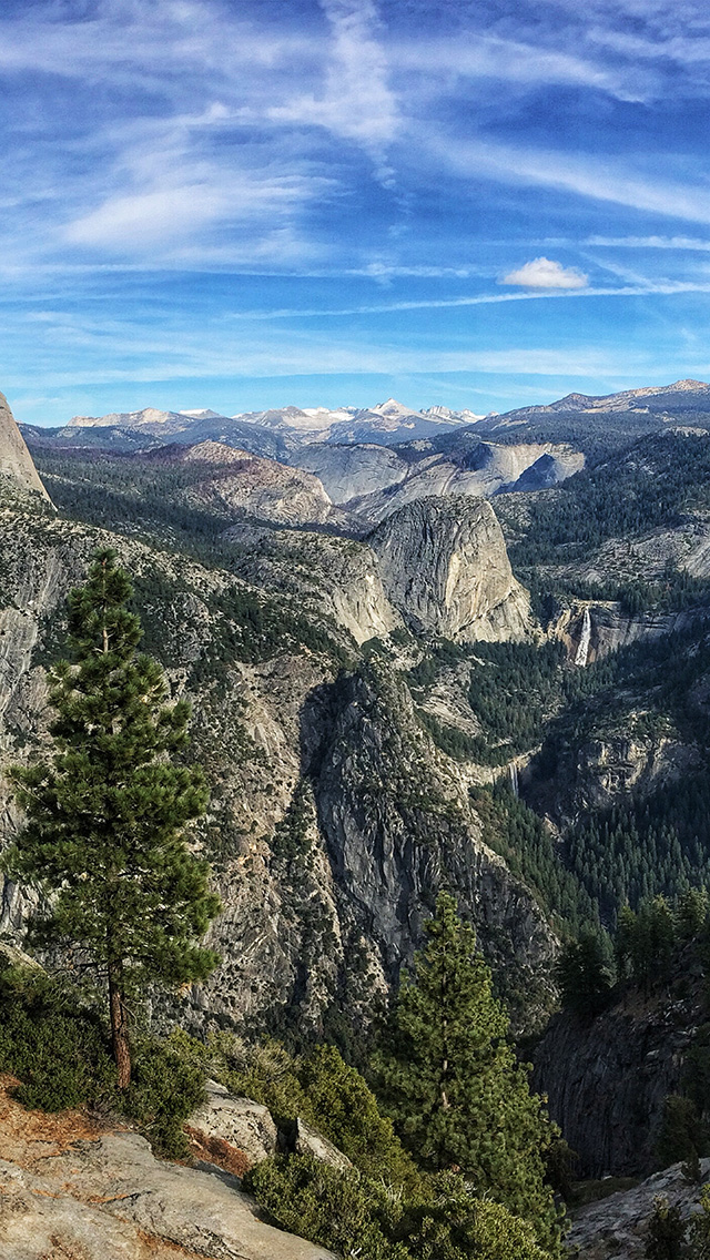 freeios8.com-iphone-4-5-6-plus-ipad-ios8-ng61-summer-mountain-yosemite-nature-cloud-sky