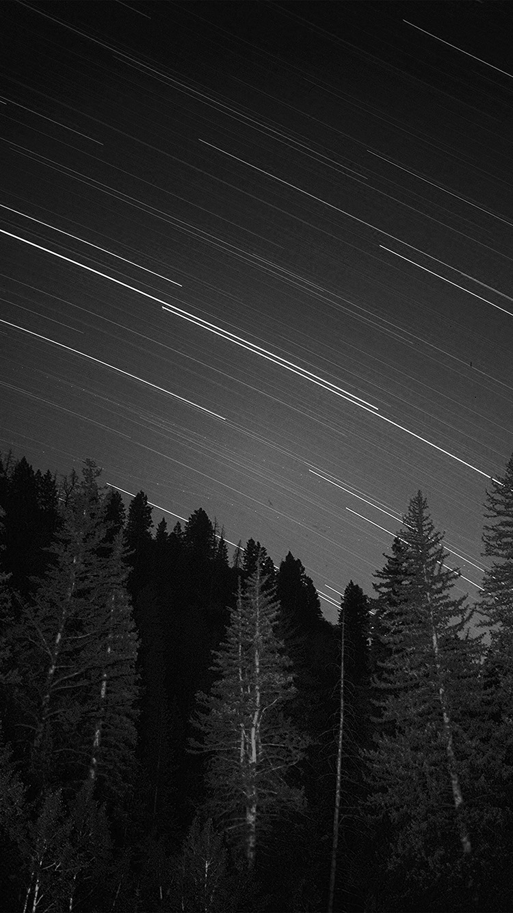 iPhone6papers.co-Apple-iPhone-6-iphone6-plus-wallpaper-ng82-night-wood-mountain-star-sky-nature-bw-dark