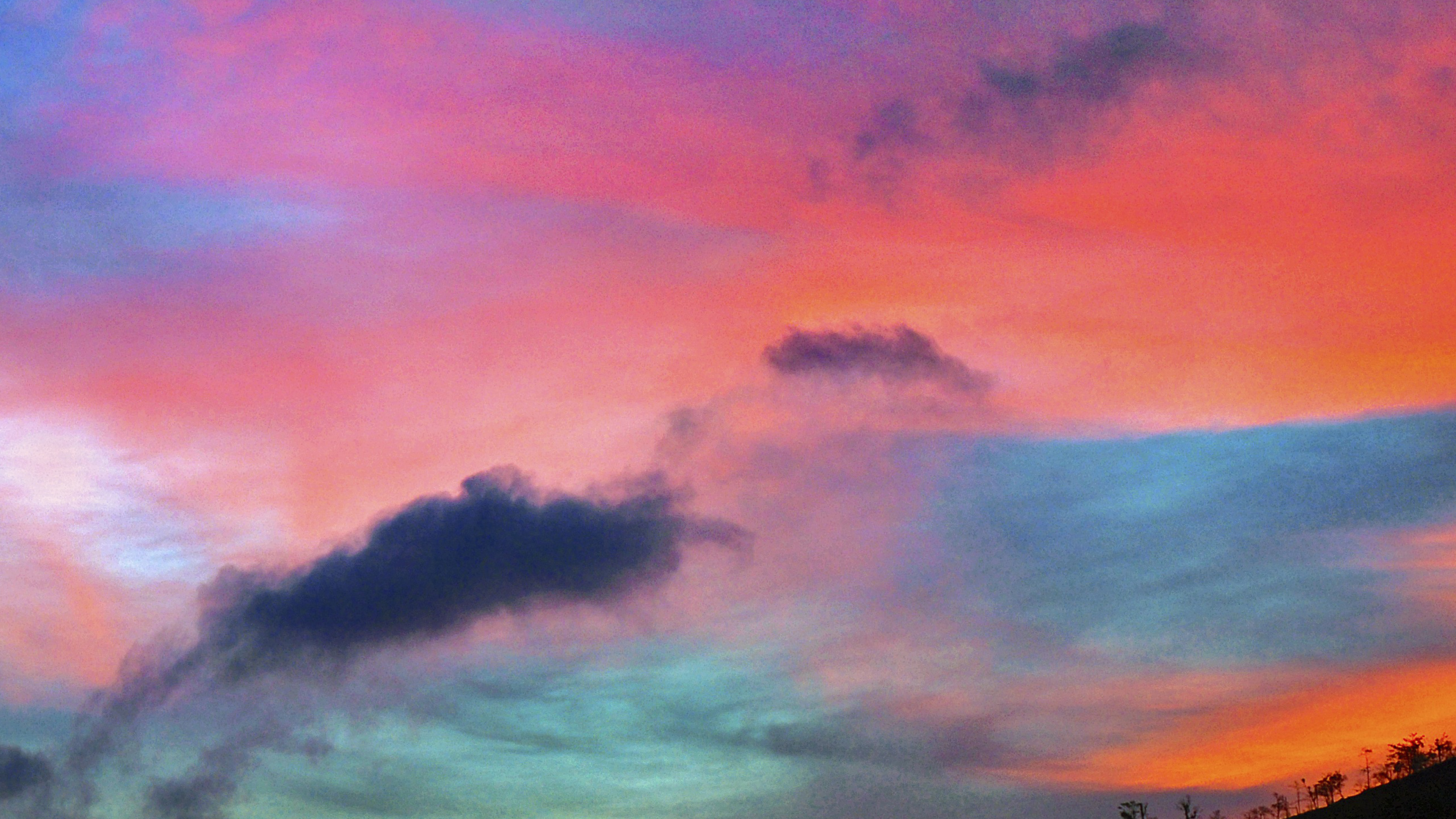 wallpaper for desktop, laptop | ng95-sky-rainbow-cloud ...