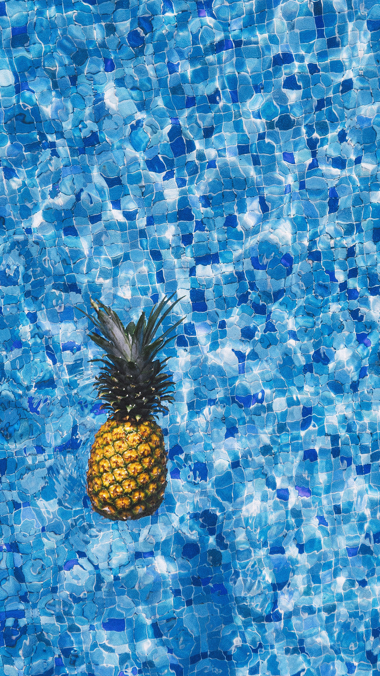 nh20-sea-water-pineapple-swim-ripple-wave-blue-wallpaper