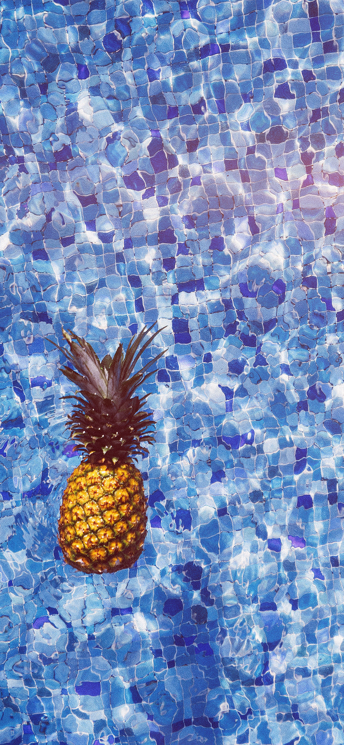 iPhonexpapers.com-Apple-iPhone-wallpaper-nh21-sea-water-pineapple-swim-ripple-wave-blue-flare