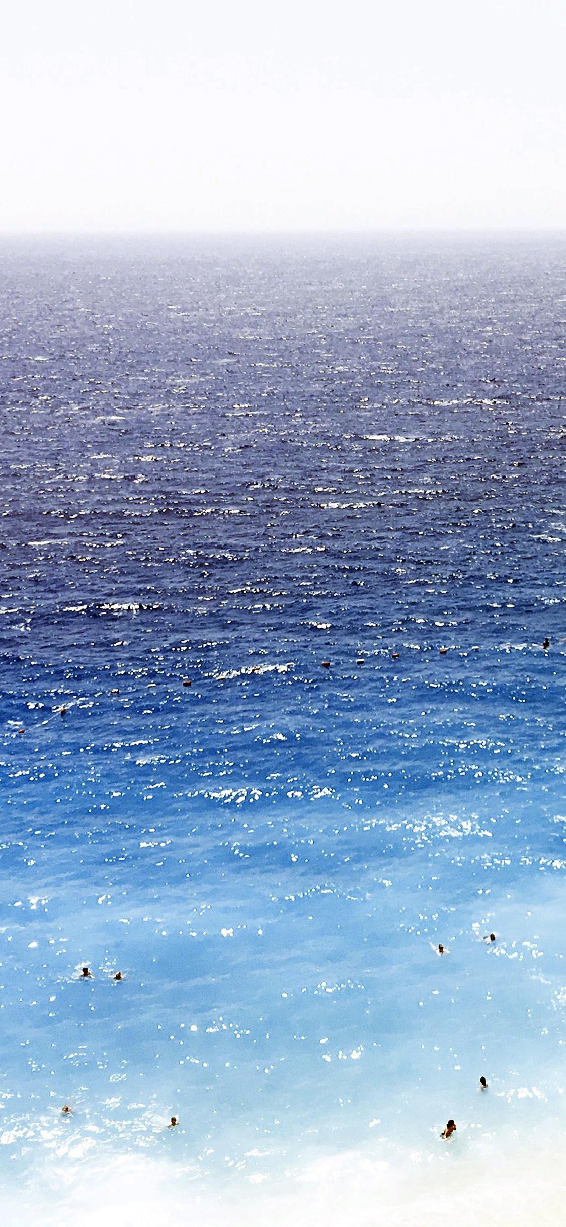 iPhonexpapers.com-Apple-iPhone-wallpaper-nh24-vacation-beach-sea-blue-summer-water-swim-dark