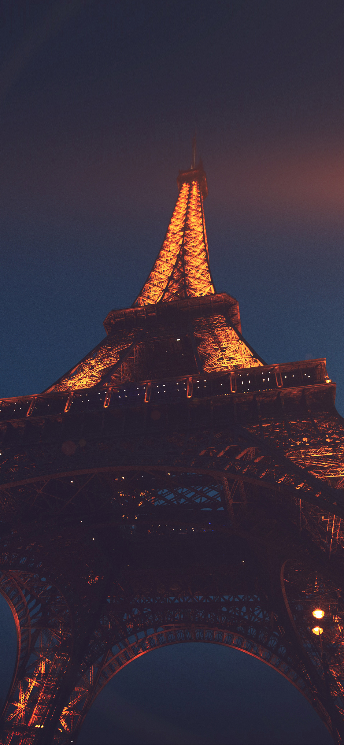 iPhonexpapers.com-Apple-iPhone-wallpaper-nh38-eiffel-tower-paris-france-tour-vacation-city-night-flare