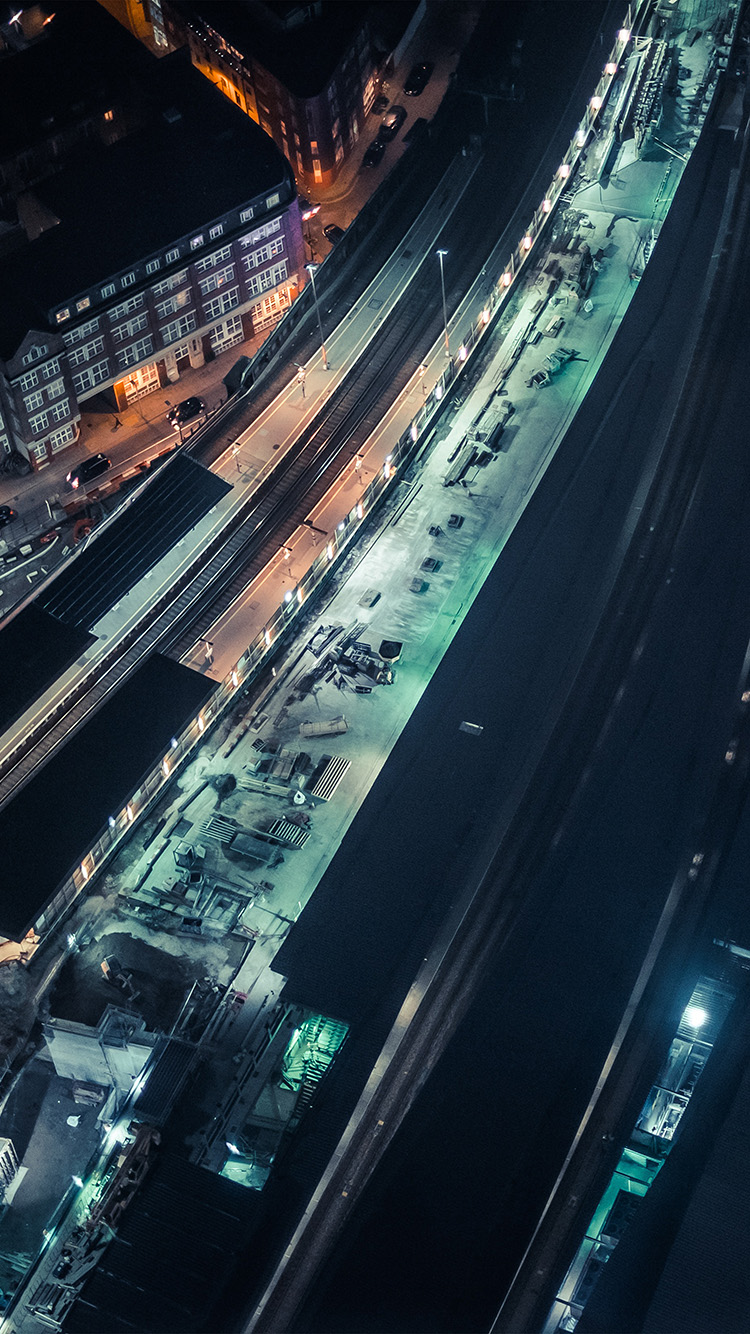 iPhone6papers.co-Apple-iPhone-6-iphone6-plus-wallpaper-nh41-cityview-street-train-blue-dark-night