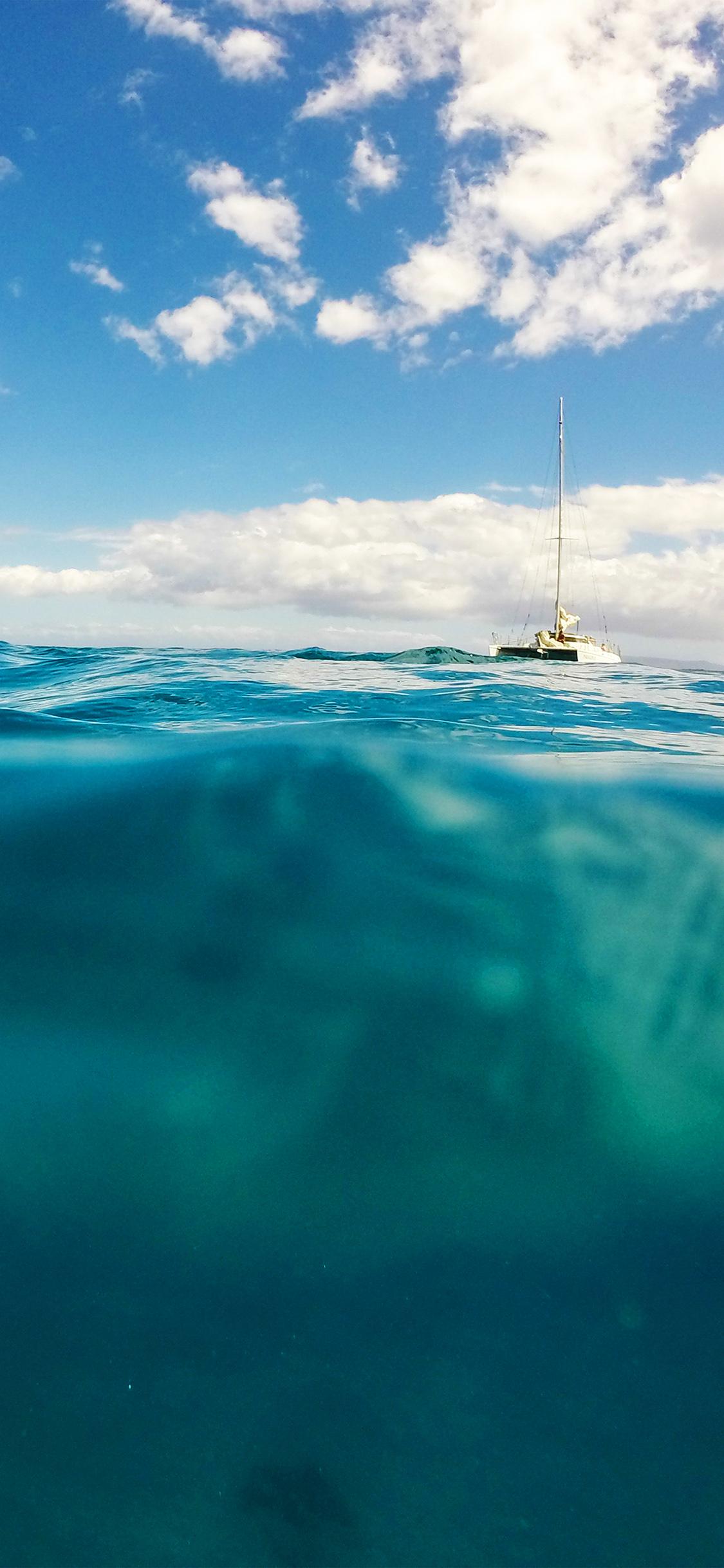 iPhoneXpapers.com-Apple-iPhone-wallpaper-ni10-sea-ocean-boat-summer-vacation-blue-green