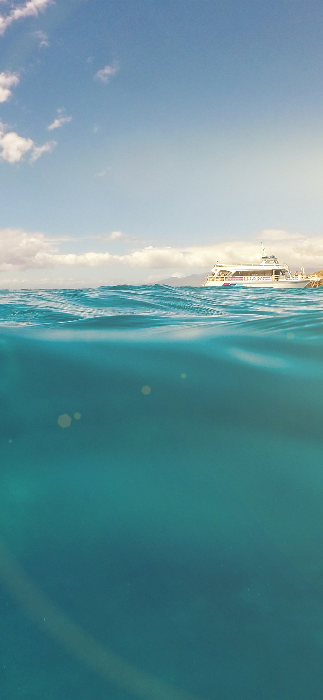 iPhonexpapers.com-Apple-iPhone-wallpaper-ni11-sea-ocean-boat-summer-vacation-blue-green-flare