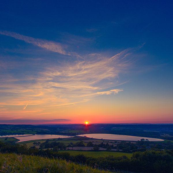 Wallpaper Of Peace: Ni14-sunset-peace-land-sky-blue-nature-wallpaper