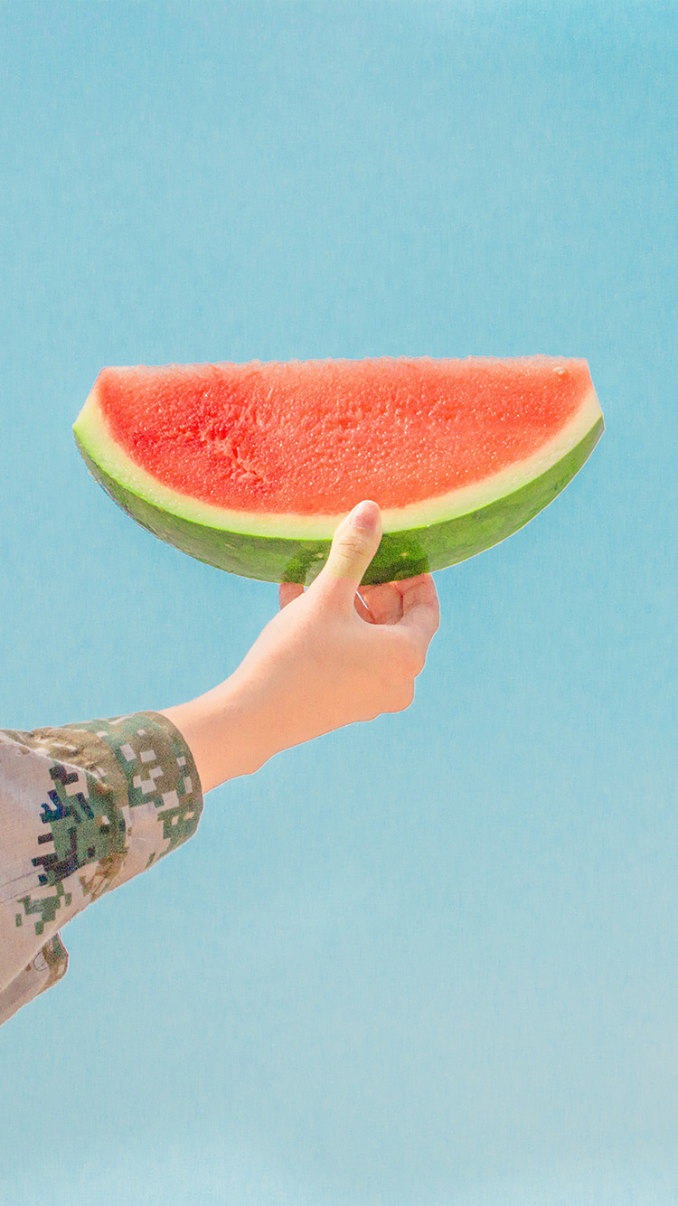 Papers.co-iPhone5-iphone6-plus-wallpaper-ni42-watermelon-summer-food-fruit-happy