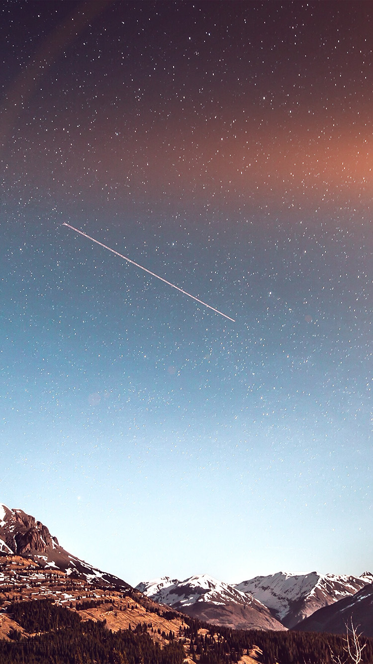 iPhonepapers.com-Apple-iPhone-wallpaper-ni44-shooting-star-night-sky-starry-mountain-flare