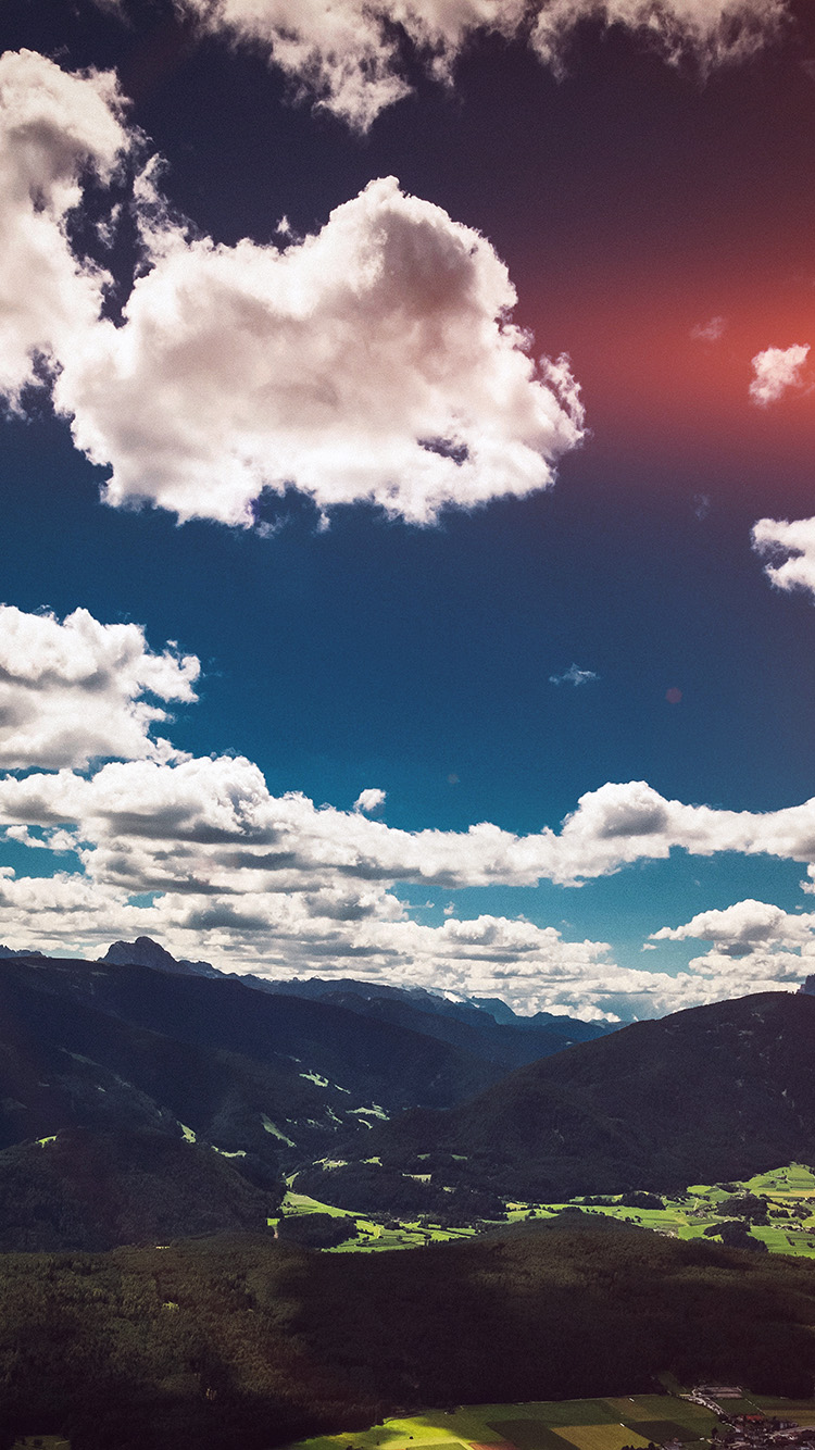 iPhonepapers.com-Apple-iPhone-wallpaper-ni56-nature-sky-cloud-mountain-green-summer-flare-cool