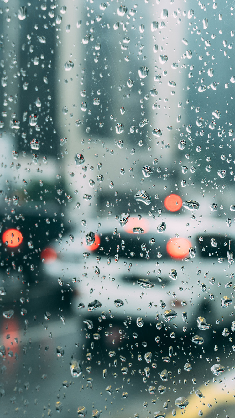 I Love Papers | nj00-rain-window-bokeh-art-car-sad
