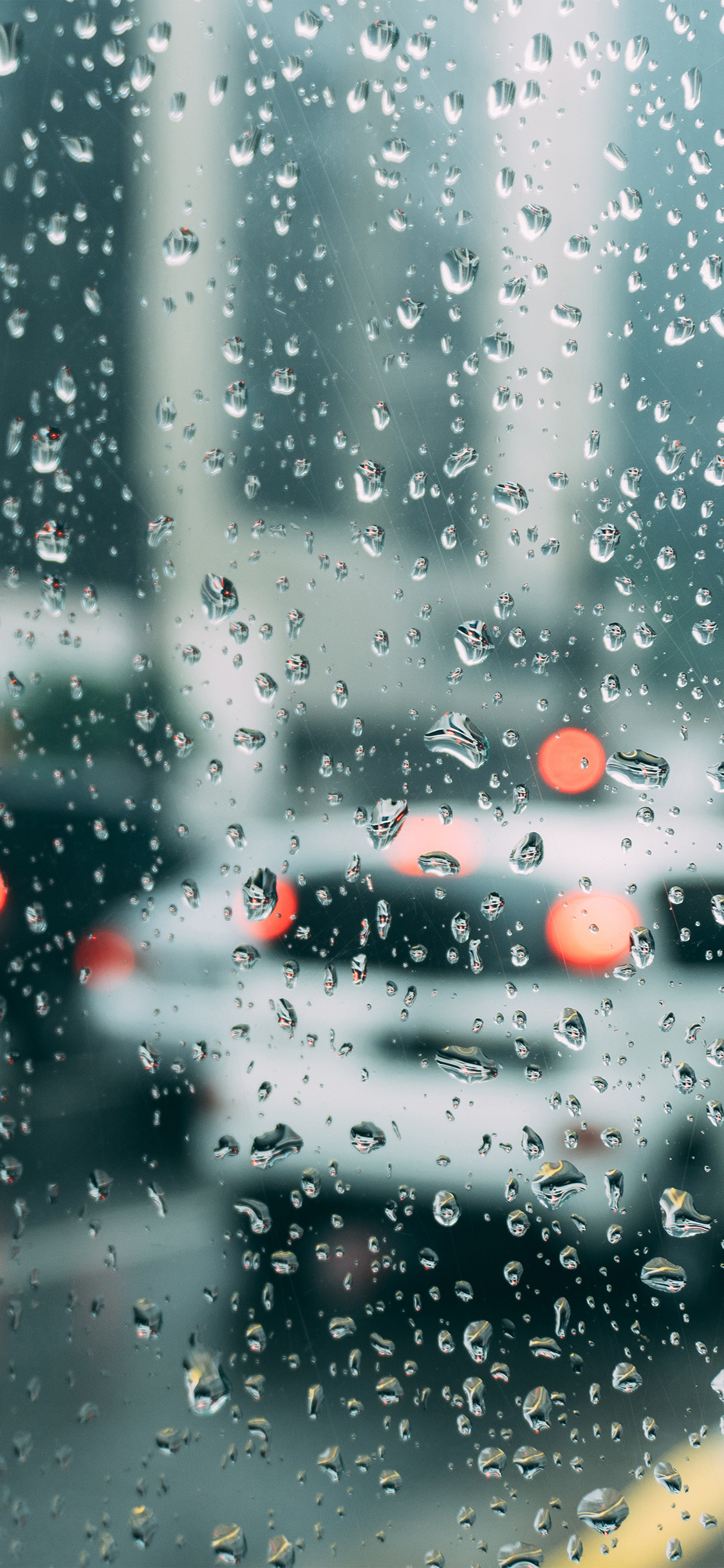 Rain Aesthetic Dark Wallpaper