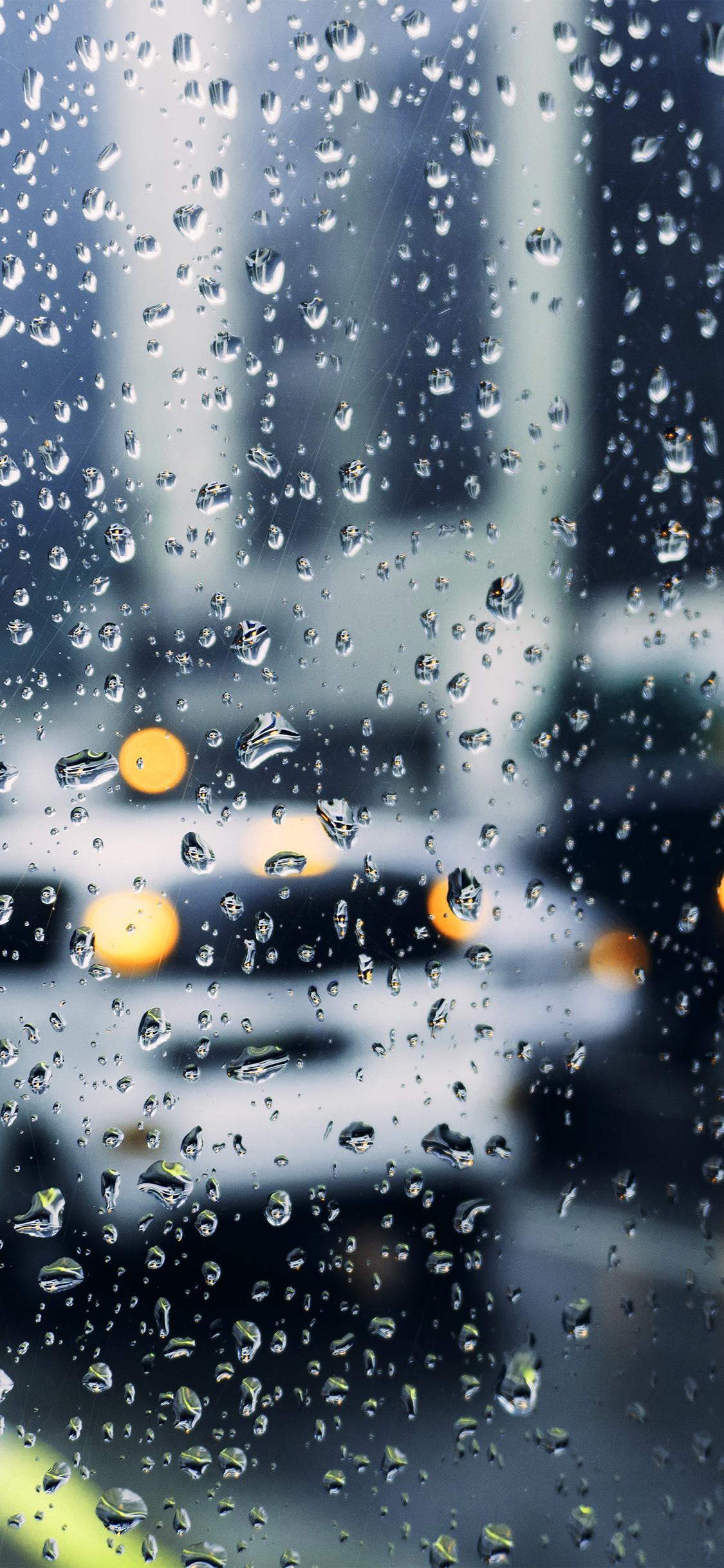 Papers Co Iphone Wallpaper Nj01 Rain Window Bokeh Art
