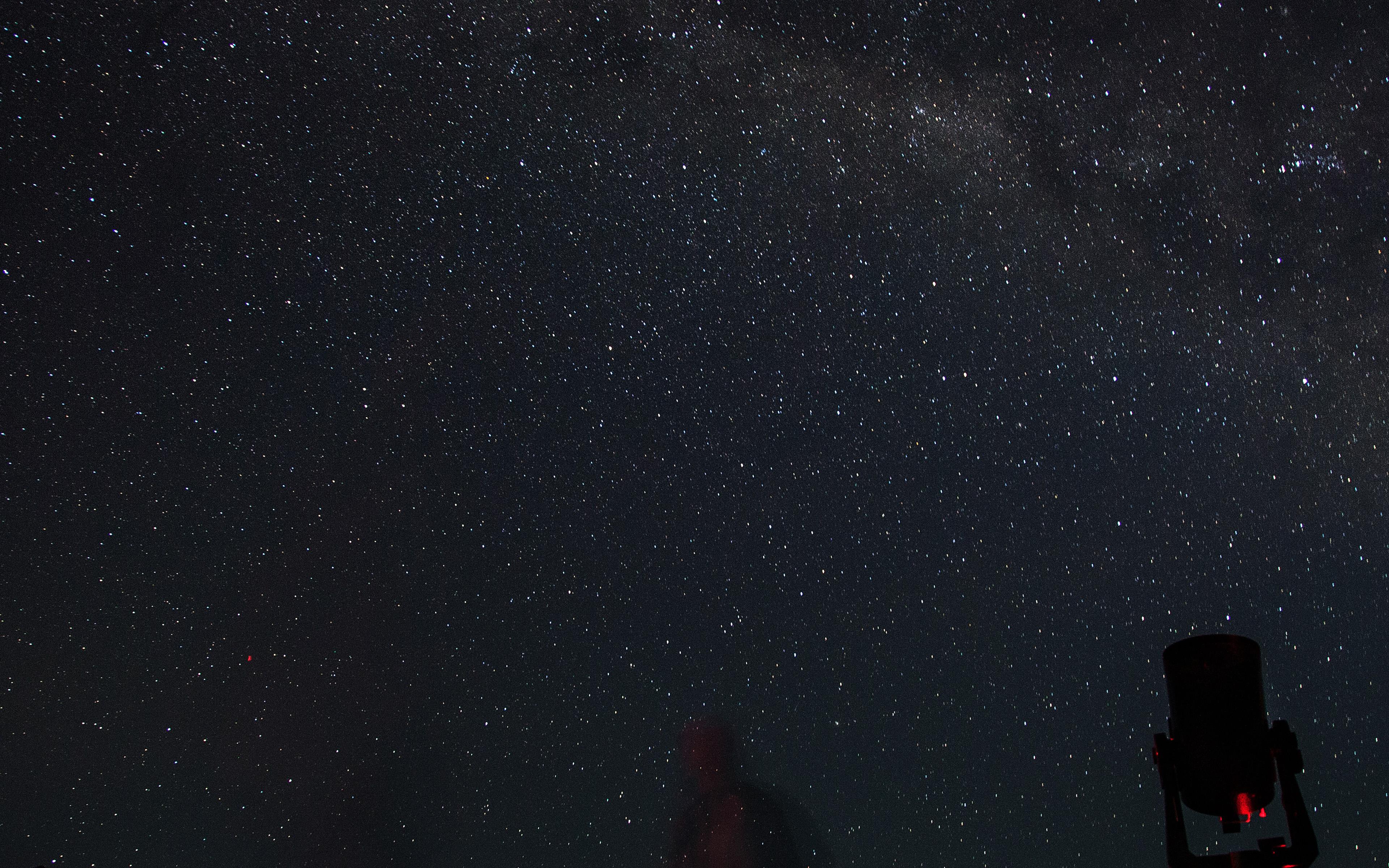 Nj27 Starry Night Sky Space Night Dark Wallpaper