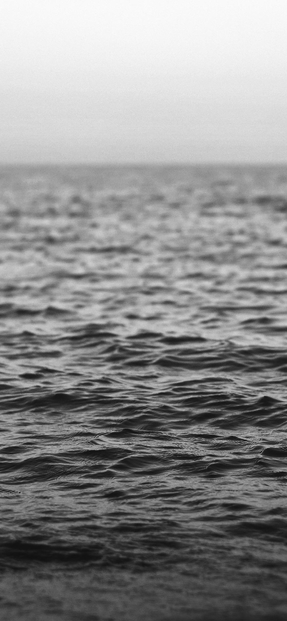 iPhonexpapers.com-Apple-iPhone-wallpaper-nj36-water-sea-ocean-wave-bokeh-dark-bw