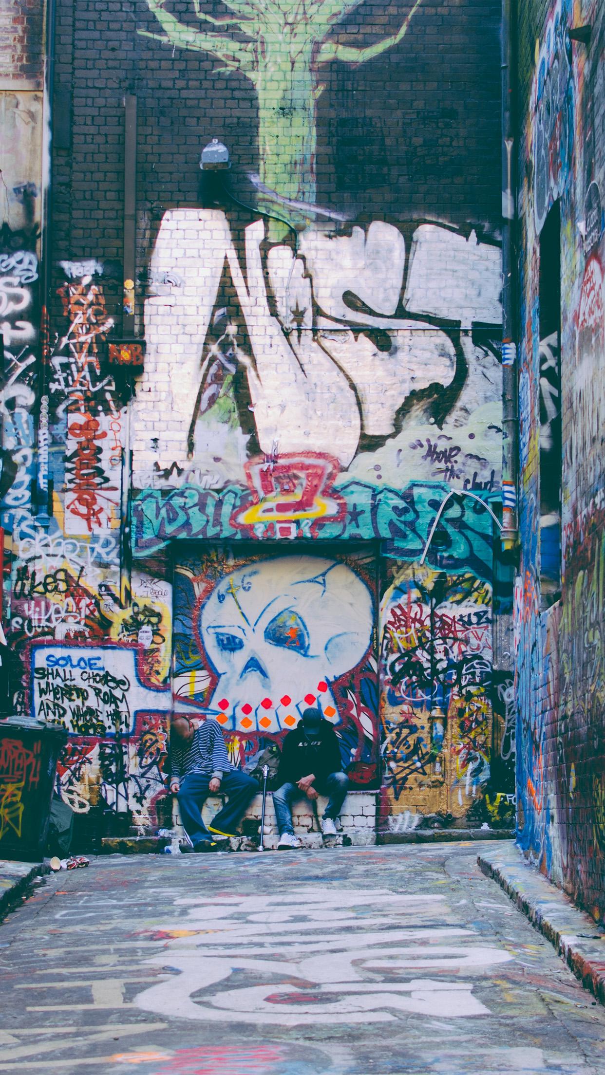 Iphone7paperscom Iphone7 Wallpaper Nj52 Grarfiti Street