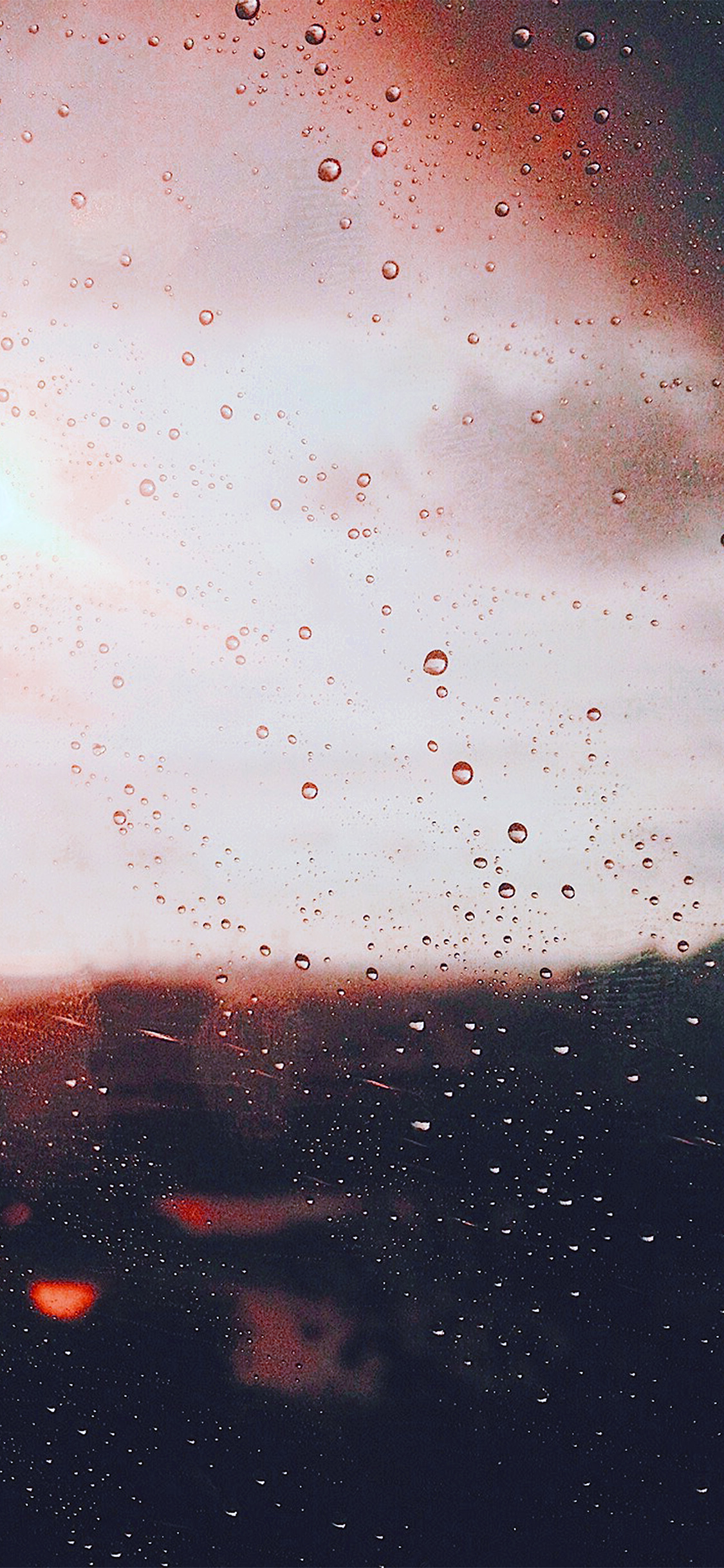 Papers Co Iphone Wallpaper Nj58 Rain Window Day Sunlight