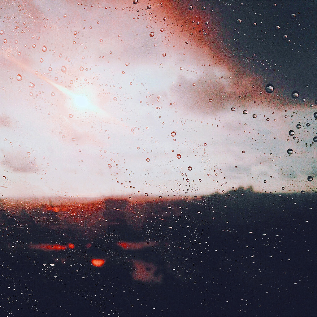android-wallpaper-nj58-rain-window-day-sunlight-bokeh-blue-red-wallpaper