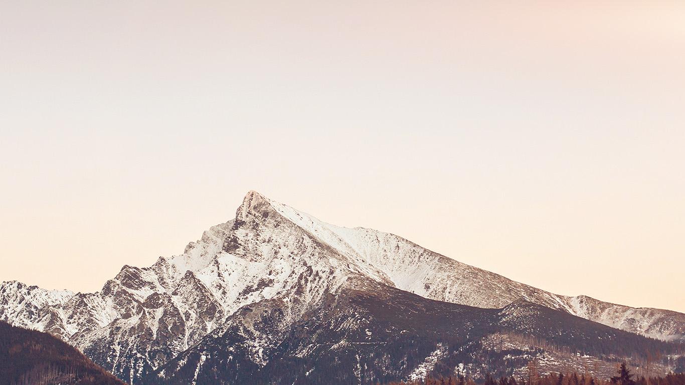 Wallpaper For Desktop Laptop Nj63 Mountain Simple Fall
